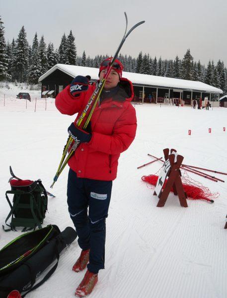 Ingar Høiseth fra Frogner IL ble nr 5 i ungdomsklassen i Stomperudrennet.
