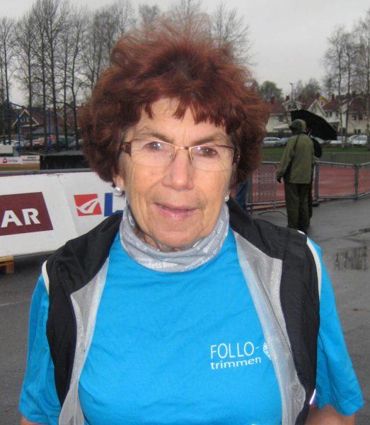 Berit Kristiansen ønsker alle velkommen til det 30.året med Follotrimmen!