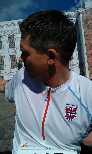 Sentrumsløpet Espen før start