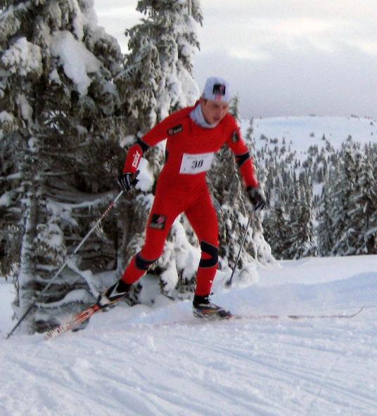 Simen Hegstad Krüger har vært Norges beste junior denne sesongen. Her fra Romjulsrennet. Foto: Frode Monsen