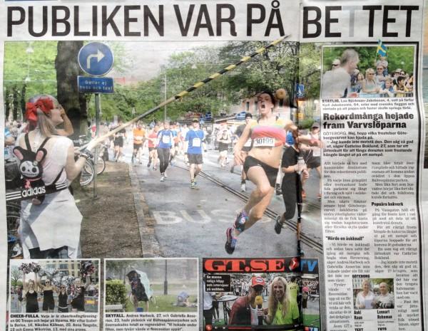 Presseklipp fra GT.