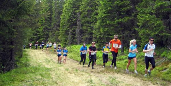 Birkebeinerløpet på tørre, fine skogsstier i juli, uten kollisjon med andre store løp, måtte vært drømmen. Foto: Frode Monsen, Sportsmanden