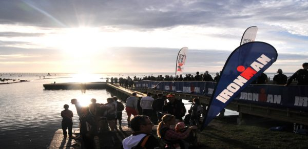 Klar til start i Kalmar. Foto: fra Kristins TRI-blog