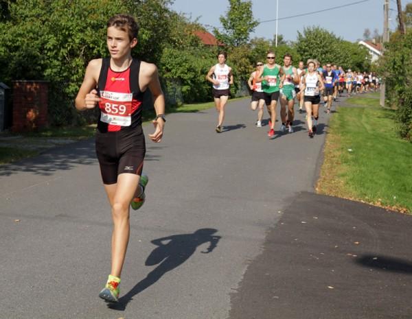 EmilWiig fra Skimt kommer som en god nummer 2. Foto: Trond T. Hansen, Sportsmanden