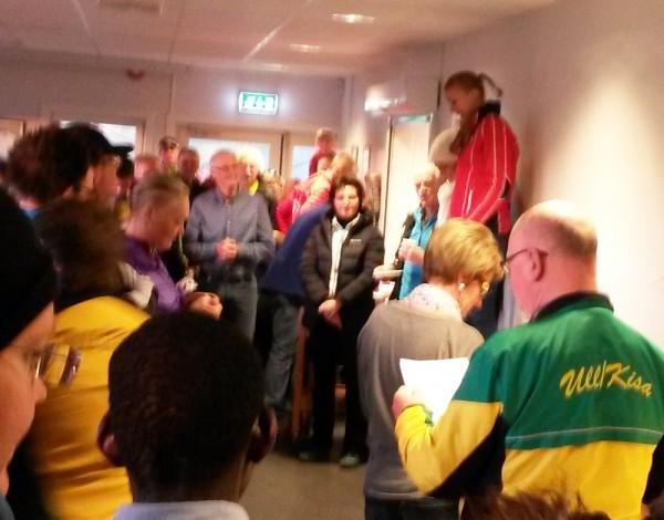Jessheim 13 Maria Venås mottar vinnermedaljen