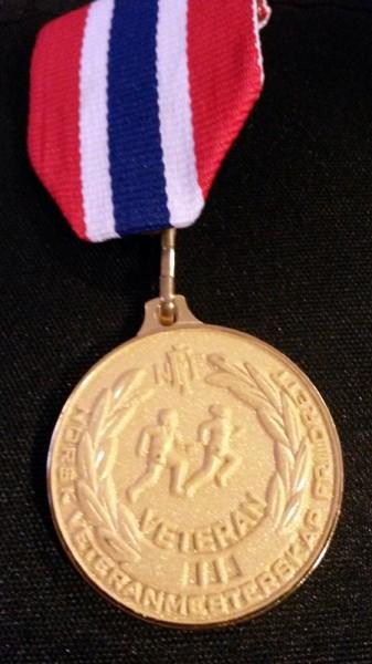 Jessheim 13 NM medaljen til Vidar Nilsen
