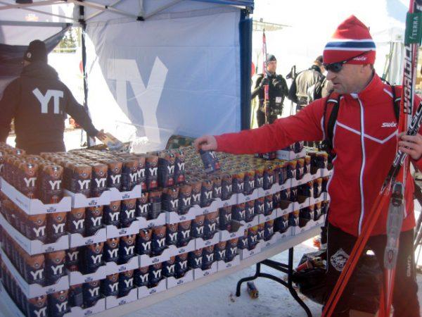 YT har i flere år vært en av sponsorene til Birken. (Foto: Frode Monsen)