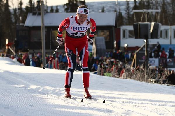 Tuva Toftdahl Staver ble nummer seks i sin debut som langløper i Marcialonga. Her fra Beitostølen tidligere i vinter (Foto; Bjørn Hytjanstorp)