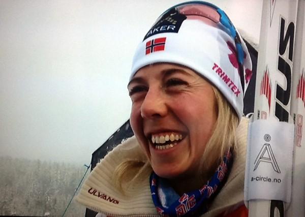 En smørblid Kristin Størmer Steira stormet inn til NM gill og Kongepokal.