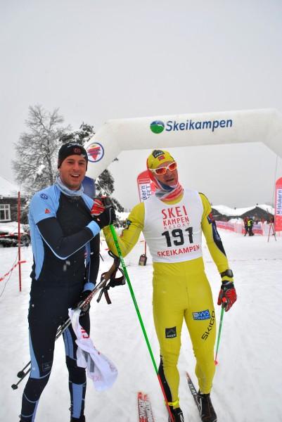 Skeikampenrennet2014_MagneLundHansen-nr1_ØysteinPettersen-nr2