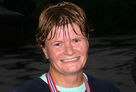 Alvilde Dancke stiller forhåpentligvis til start som tittelforsvarer når oppegårdmila gjenoppstår. Her etter seieren i 2004. (Foto: Stig Vangsnes)