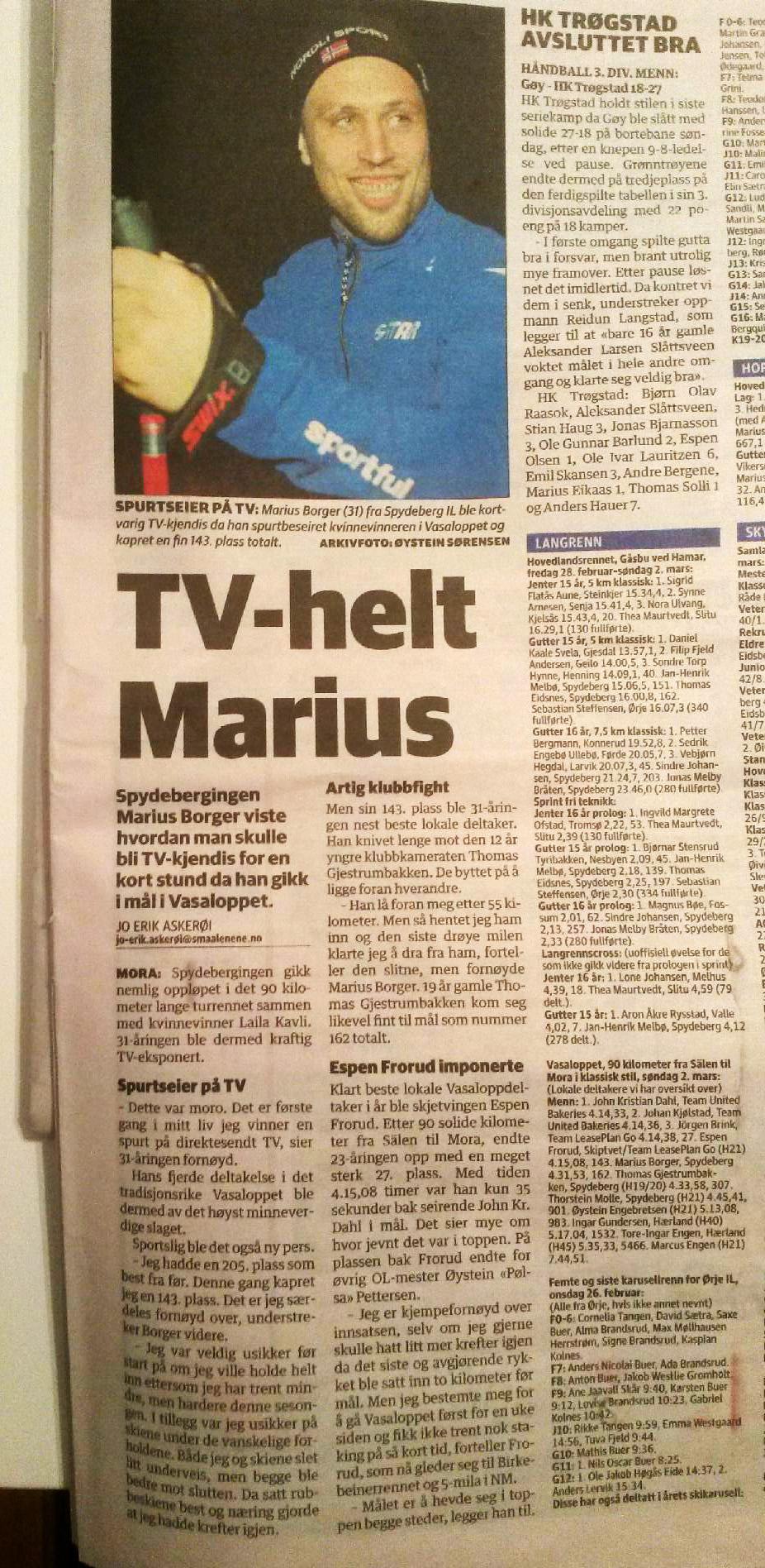 Vasaloppet2014_MariusBorger-avisklipp