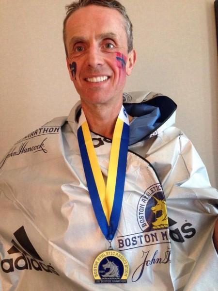 Terje Lyngstad imponerte stort med sin andre maratonpers på 16 dager. (Foto: privat)