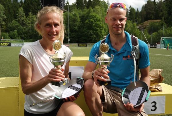 SAMSUNG CSC Bestemannspremiene gikk til Siri Størmer og Erik Blom-Dahl. Foto: Frode Monsen, Sportsmanden