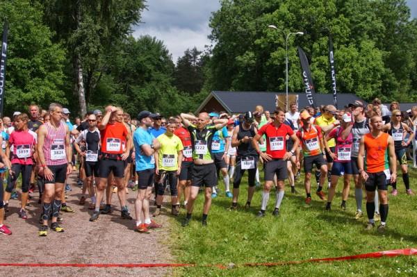 Salomon Trail Tour Göteborg_start