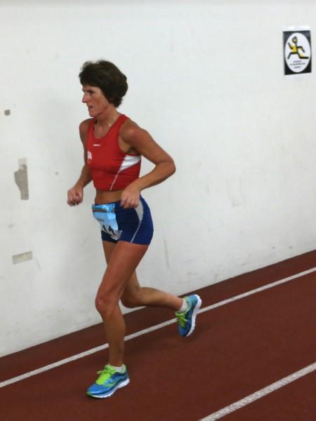 Beste norske dame ble fjorårets norgesmester på distansen, Edna Leikvoll, med 4.plass (Foto: Frode Monsen / Sportsmanden.no)