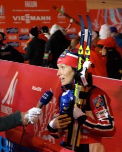Marit Bjørgen hadde et nytt strålende VM, selv om Therese Johaug var hestehode foran denne gangen. Alle lurer nå på om Marit kommer til å fortsette karrieren.