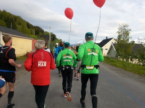 Fartsholder var Alf B.Dahl og Jon-Geir Iversen fra Running El Camino - Charity