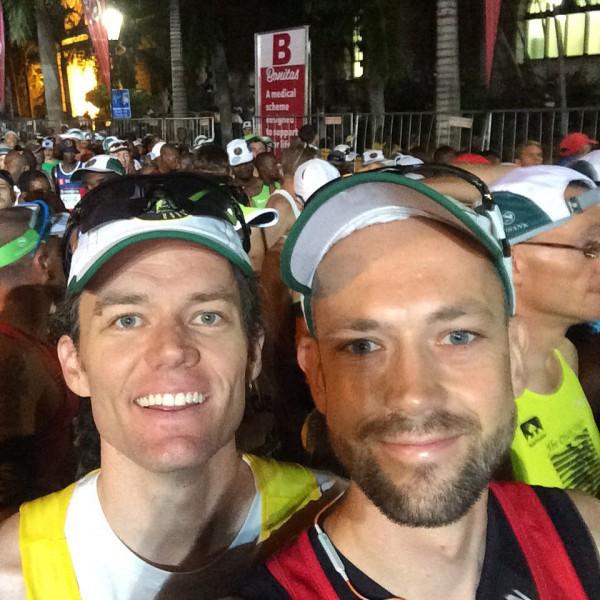 Kompis Mark fullførte sitt niande løp (sic!) med stil