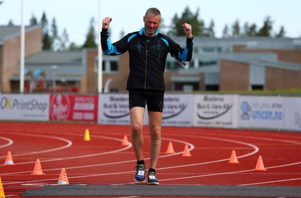 YES! Tore Mortensen var kanskje den store overraskelsen. Her passerer han 700 km, som en av tre og tar tredjeplassen til slutt etter Kobo Oren og Lars Christen Dørum.