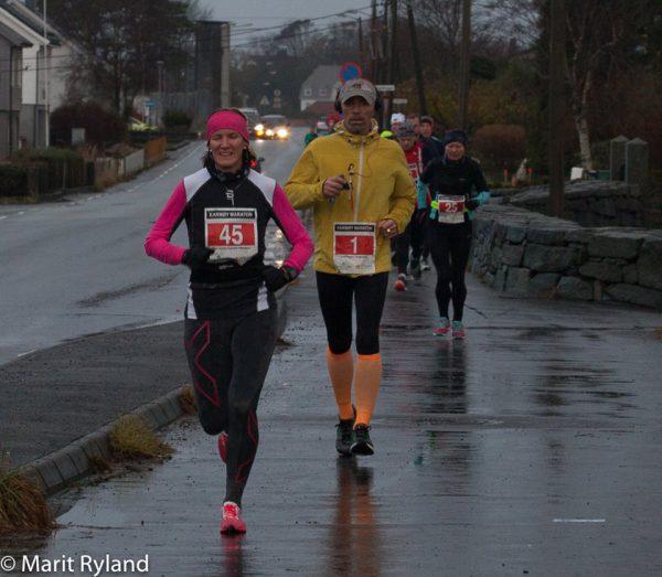 Gro Anita Aartun Imsland ble sjette best og vant klasse 40-44 år på 3.50. (Foto: Marit Ryland)