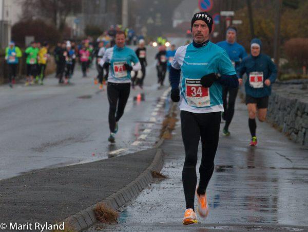 Terje Lyngstad i Team Sportsmandens turkise og hvite farger fikk det tøft etter ganske frisk åpning, i år som i fjor. (Foto: Marit Ryland)
